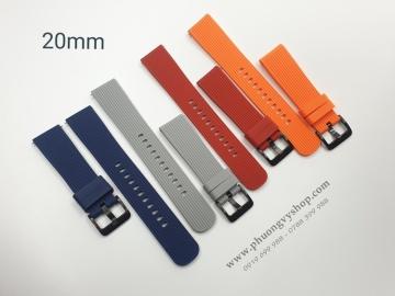 Dây cao su F1 Galaxy Watch - chốt thông minh (20mm)